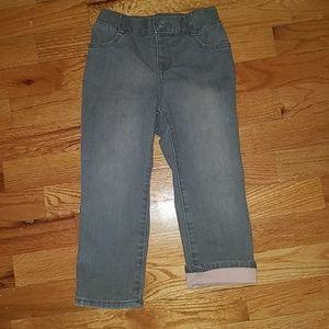 Toddler girl skinny straight jeans